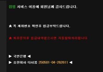 짐빔 먹튀검증 상세내용3